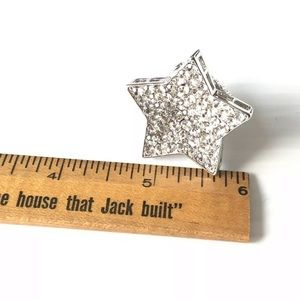 Jewelry - **FREE with $25 Purchase** STAR CRYSTAL RING